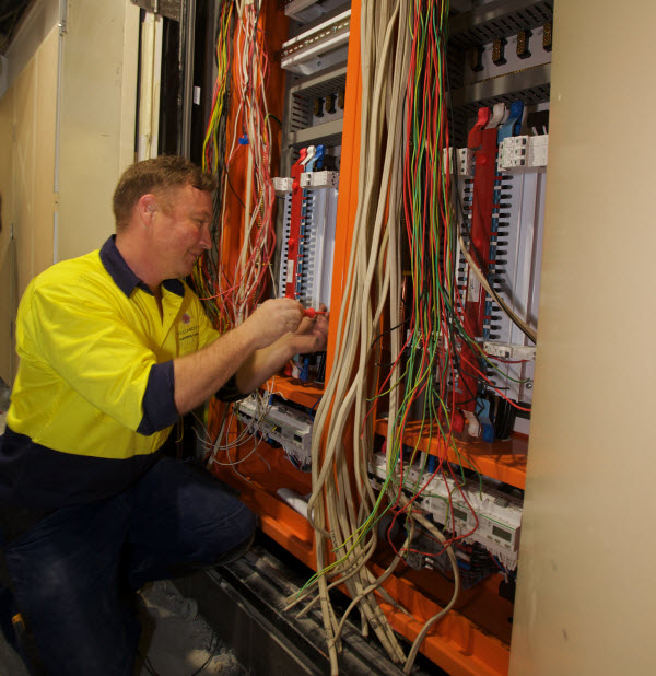 Install the right cabling infrastructure