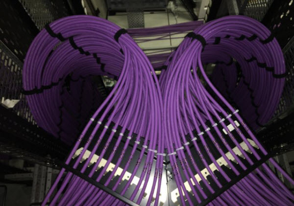 Structured Cabling room